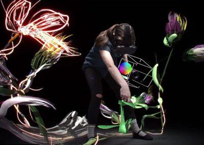 Dessin 3D en réalité virtuelle