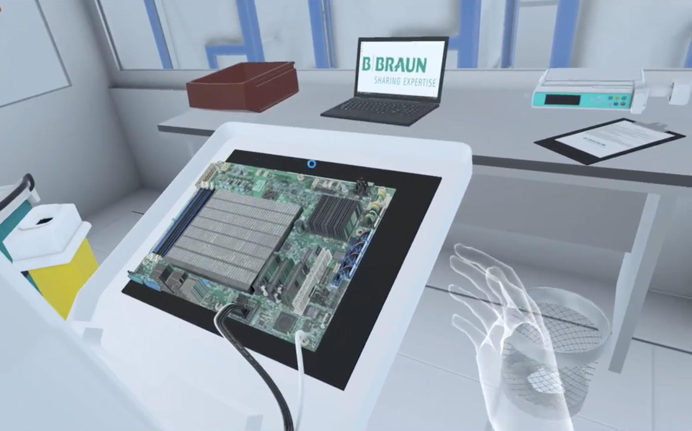 Développement application réalité virtuelle