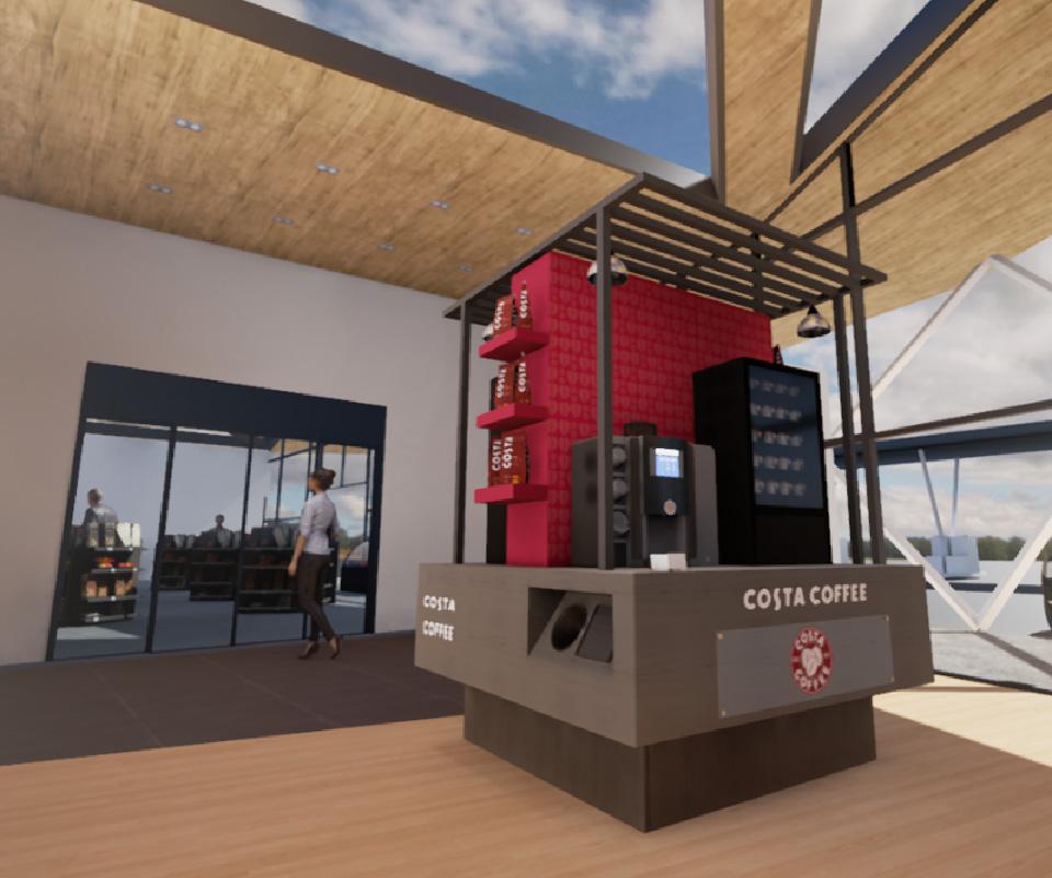 Présentation de concept / prototype / maquette en réalité virtuelle