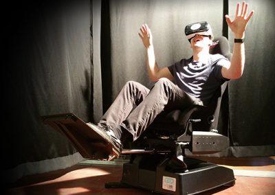 Fauteuils dynamiques VR