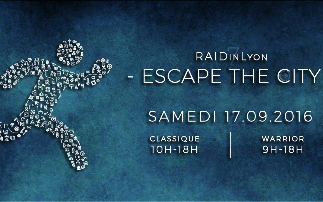 Nous sommes partenaires du RaidInLyon édition 2016 !