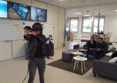 Démonstration VR - location de HTC Vive