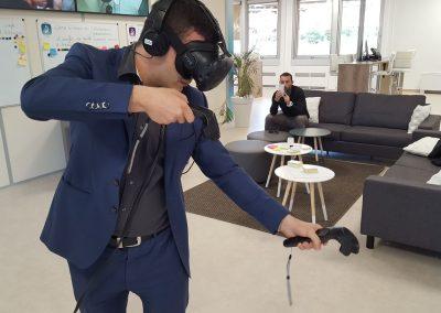 Animation transformation digitale - location de casque VR