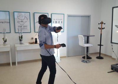 animation évènement entreprise - réalité virtuelle