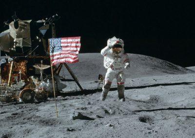 Animation espace - Revivre Apollo 11 en réalité virtuelle - animation VR location casque