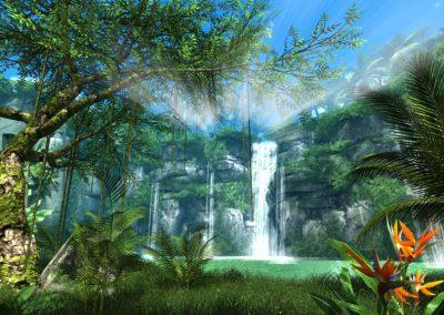 Forêts et nature en réalité virtuelle