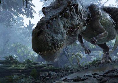 Rencontre avec les dinosaures en VR