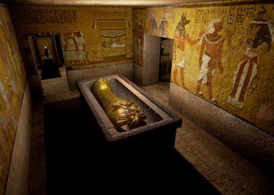 Visiter un tombeau Égyptien en réalité virtuelle
