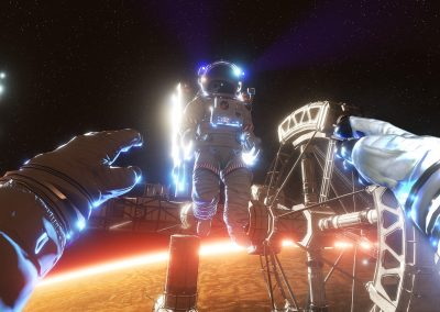 Animation évènement Exploration de l'espace en réalité virtuelle