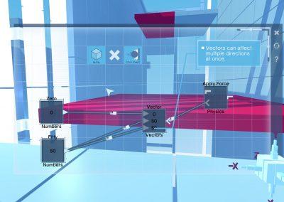 Animation évènement thème code programmation développement - réalité virtuelle