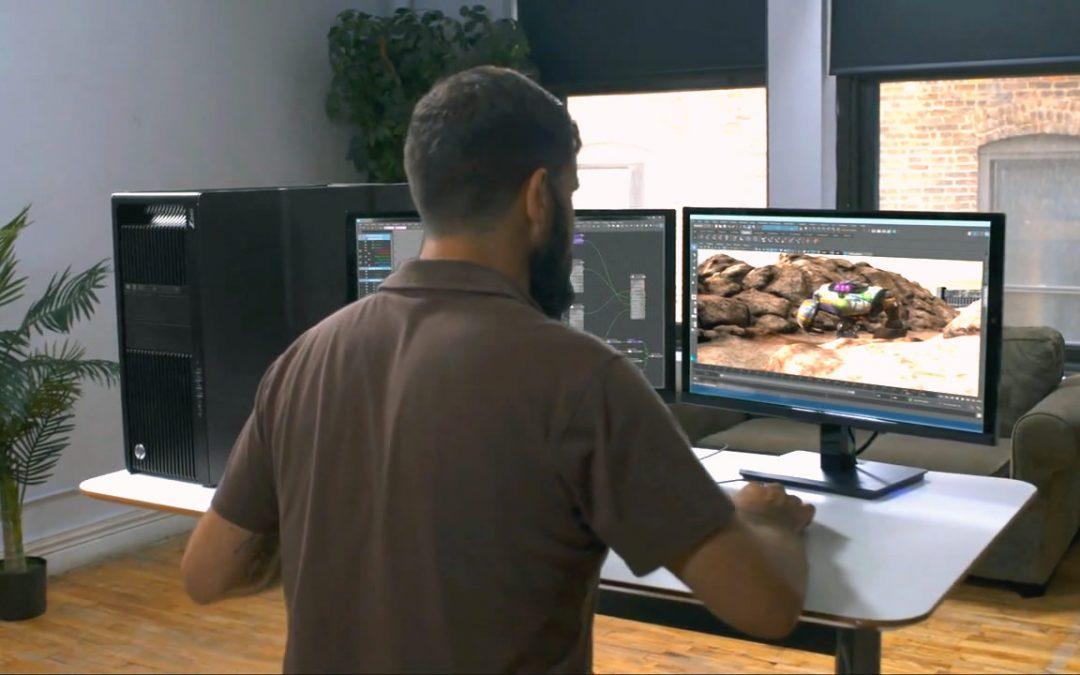 Modélisateur/trice 3D Jeu vidéo
