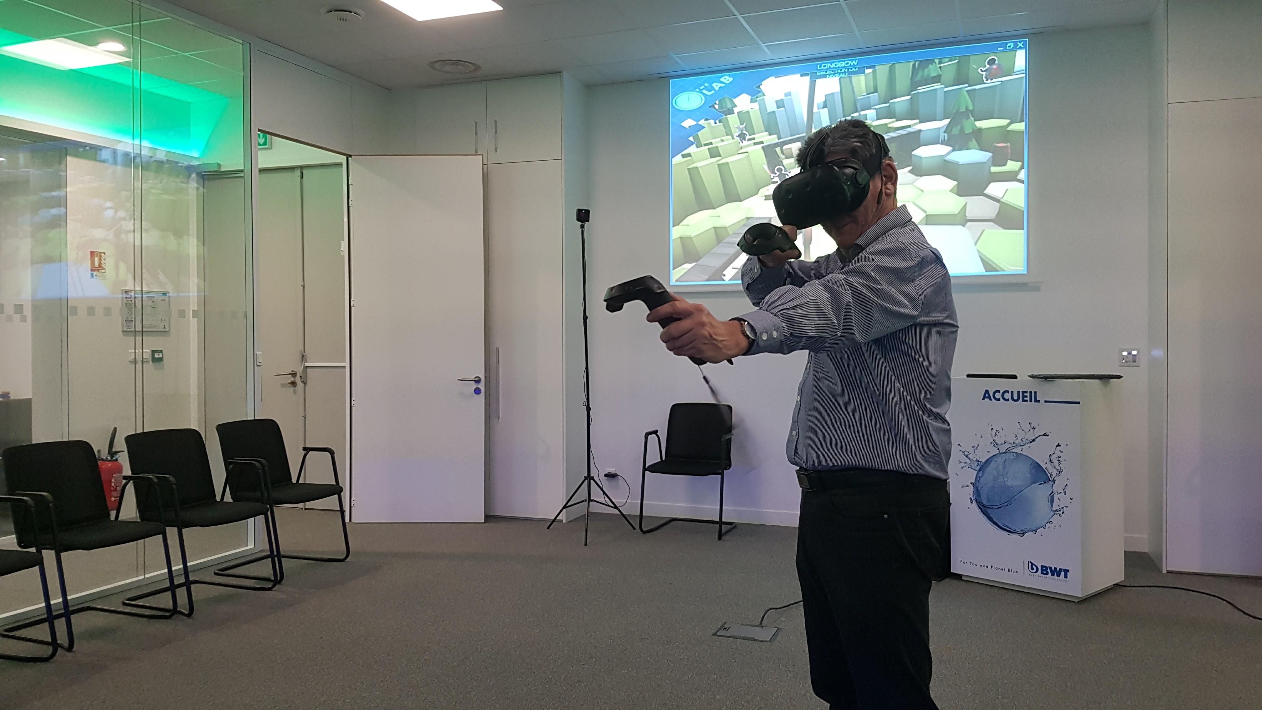 BWT - location d'un casque de réalité virtuelle UniVR Studio
