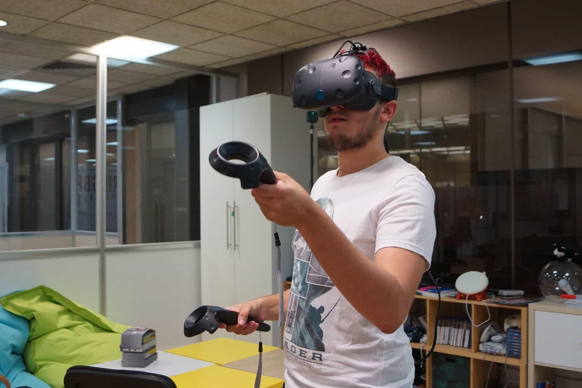 Réalité virtuelle sans fil