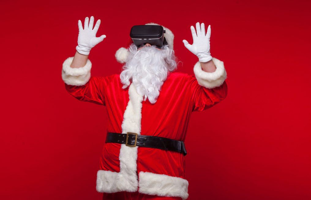 Une fête de Noël réussie avec une animation en réalité virtuelle ?