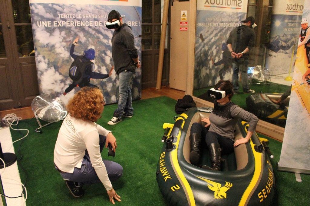 Location animation réalité virtuelle sécurisée et scénarisée