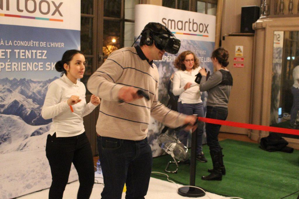 Accompagnement réalité virtuelle
