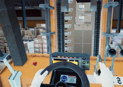conduite chariot entrepot - virtual training