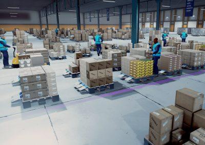 Entrepot - Formation réalité virtuelle logistique