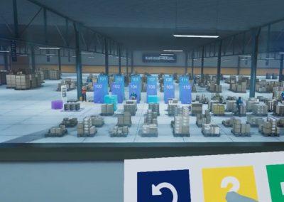 Formation logistique réalité virtuelle