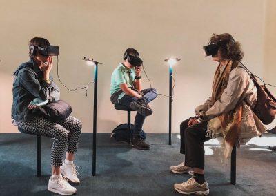 Location d'un grand nombre de casques VR
