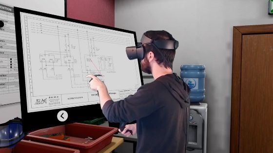 habilitation électrique en réalité virtuelle (vr) consignation
